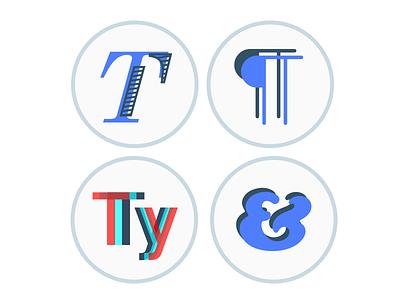 Typography Course Icons designlab type typography