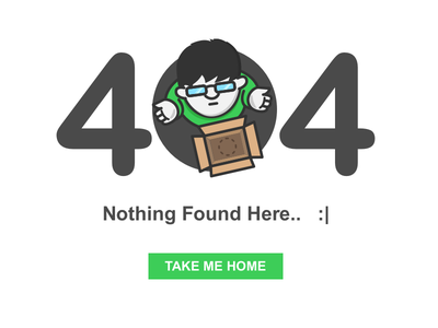 404 Page Not Found graphics flat not available page error illustration 404