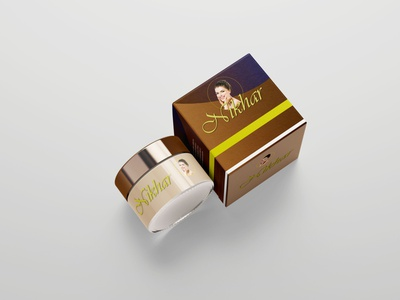 Cosmetic Jar2 product packaging