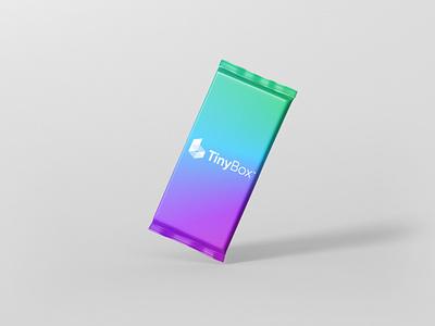 Tiny Box Packaging Mockup 1 scaled vector logo design illustration branding