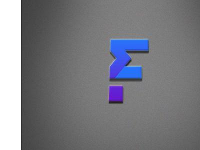 Free F Letter 3D Logo Mockup icon typography new vector illustration branding images design creative mockup logo 3d letter f free