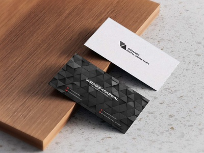 Free Black Pattern Business Card Design motion graphics graphic design 3d animation branding typography icon new logo images creative design card business pattern black free
