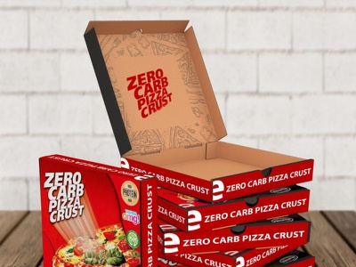 DELICIOUS PIZZA BOX PACKAGING MOCKUP 3d ui branding design icon typography ux new vector logo illustration images latest designer stylish mockup packaging box pizza delicious