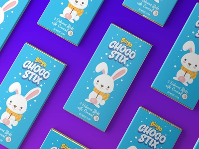 Choco Stix Packaging Mockup vector app typography ux ui animation 3d graphic design branding logo motion graphics classic latest amazing stylish colorful mockup packaging stic choco