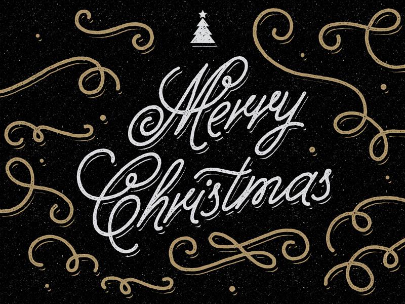 Merry Christmas merry christmas christmas christmas tree happy holidays tree star ornament script greeting holiday holiday card christmas card