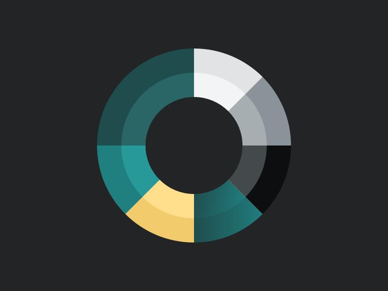Color Scheme Exploration gradient kit style ui minimal scheme colour color