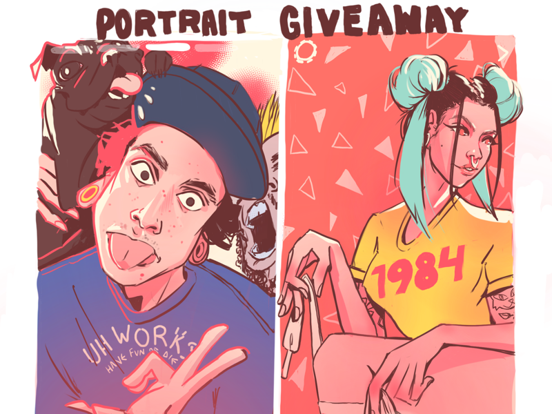 giveaway flyer by tamy hadeed dribbble dribbble
