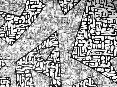 Geometry doodleart