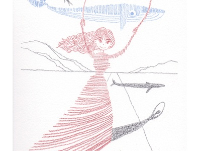 Meme in Wonderland instead of Alice [Meme in Dali's world] illustration
