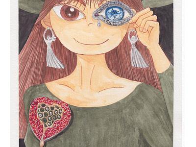 Jewels of Dali illustration