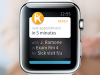 Kareo EHR for Apple Watch