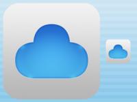 BlueNube icon for the iPad