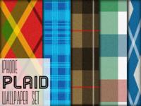 [WIP] iPhone plaid wallpaper set