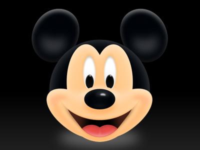 Mickey dribbble