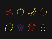 Fruit shapes