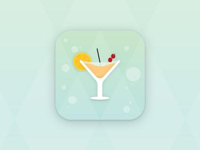Yoshaker - App Icon product development ui illustration cocktail identity logo android iphone application app icon app