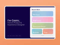 Adobe XD - First try rounded corners adobe xd product design ux  ui webdesign pastel colors gradient color flatdesign exploration layout colorful adobexd