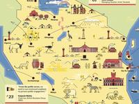 Tanzania Map Cover