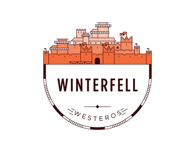 Castle of Winterfell Badge