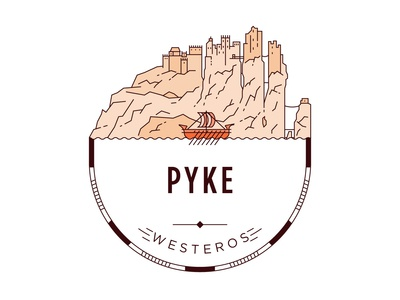 Castle of Pyke Badge