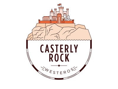 Castle of Casterly Rock Badge