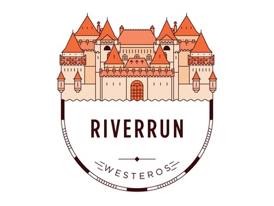 Castle of Riverrun Badge