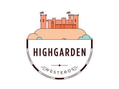 Castle of Highgarden Badge
