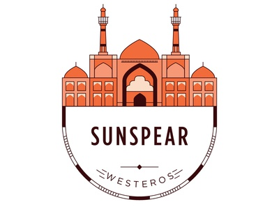 Castle of Sunspear Badge