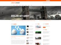 Lifestylepundit blog layout