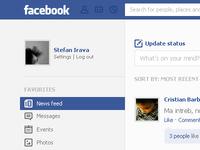 Facebook redesign (wip)