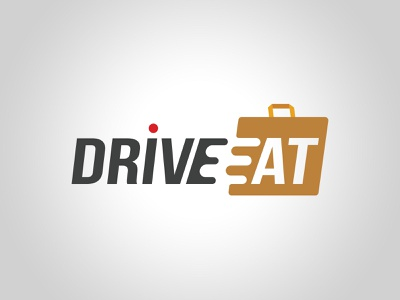 Logo Drive Eat illustrator illustraion typogaphy brand brand design identity branding logodesign logotype logo