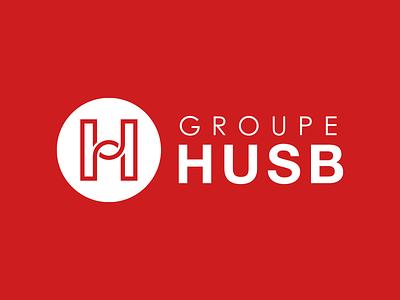 GROUPE HUSB design brand design branding visual identity logotype logos logo