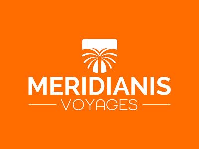 Logo Meridianis logotype logotyp branding design typography creative brand logo a day logo