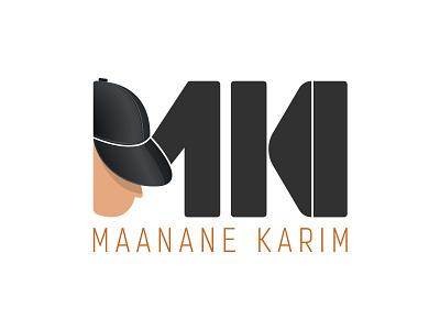 Logo Maanane Karim visual  identity logo design logotype vector branding design typography creative illustration brand logo
