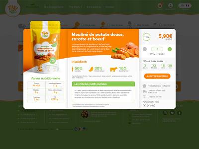 Fiche Tiny Menu ecommerce u2 responsive ux process ui website userinterface userexperiance uidesign ux design creative