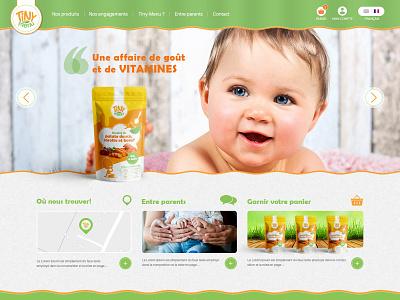 Tiny-Menu illustraor photoshop ecommerce designweb uidesign ui  ux design ux designer ux-ui