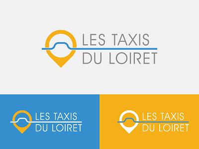 Les taxis du Loiret logodesign design visual identity branding brand logotype logo