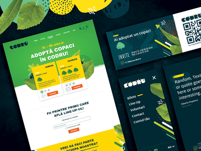 Music Festival vibrant .fun colorful noise leaf printdesign webdesign branding art fest festival music festival