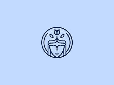 Cosmetics Store  logo lines art face geometric store outlook look healthcare cosmetics branding logo