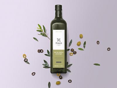Olive oil start-up branding graphic design logo print label bottle label bottle xapa greece olive oil