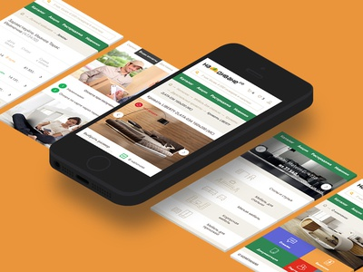 Nadivane mobile nadivane modern furniture home product responsive webdesign basovdesign prime shop store moscow
