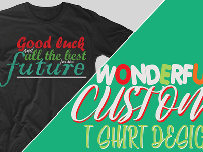 wonderful custom typographic tshirt design tshirt design typography tshirt wonderful tshirt typography text design