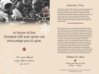 Greatest Gift Flyer