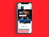 Swift website userinterface uxui ux cars car