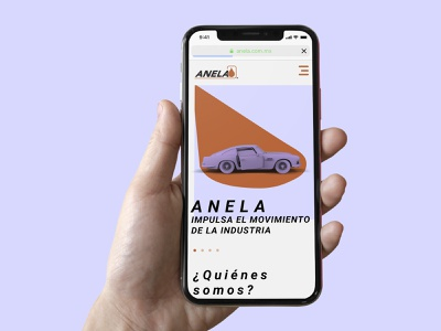 ANELA website oil producers website ux ui responsive web web