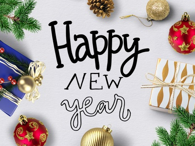 Happy happy overlay christmas marialetta new year 365 holiday english lettering