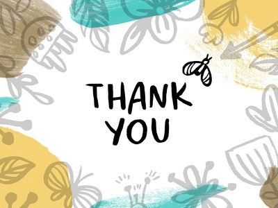 Thank you marialetta thank you english lettering