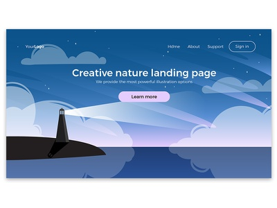 Current work affinity designer marialetta web design illustration landing ui create app daily-ui