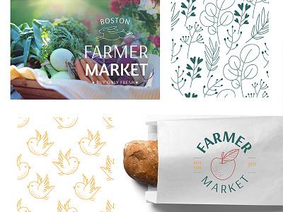 Eco life branding maria letta healthy farm graphic design stylish pattern logo life eco