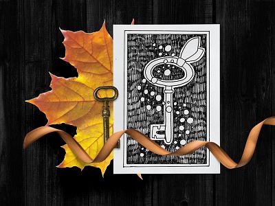 #My_inner_tales - inktober challenge story concept challenge magic inktober2018 black and white graphic design illustration marialetta